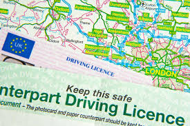 company car hire check driving licence